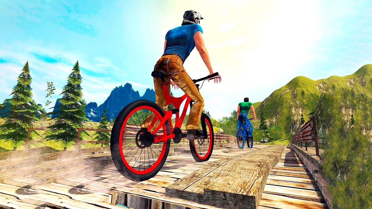 Bike Games Mountain Bike Mtb Rider Bmx Uphill Stunts