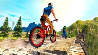 Bike Games - Mountain Bike: MTB Rider BMX Uphill Stunts Race 3D - Gameplay Android free games
