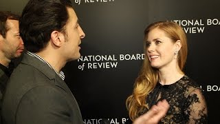 Amy Adams at the National Board of Review Gala Behind The Velvet Rope