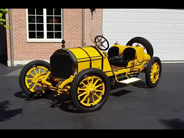 1912 Mercer Raceabout Series 35-J in Race Mode & We Take a Ride on My Car Story with Lou Costabile
