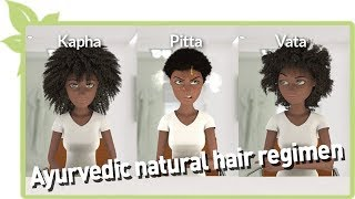 Ayurvedic natural hair regimen thumbnail