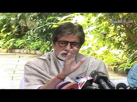 Amitabh Bachchan's speaks On Afzal Guru's hanging