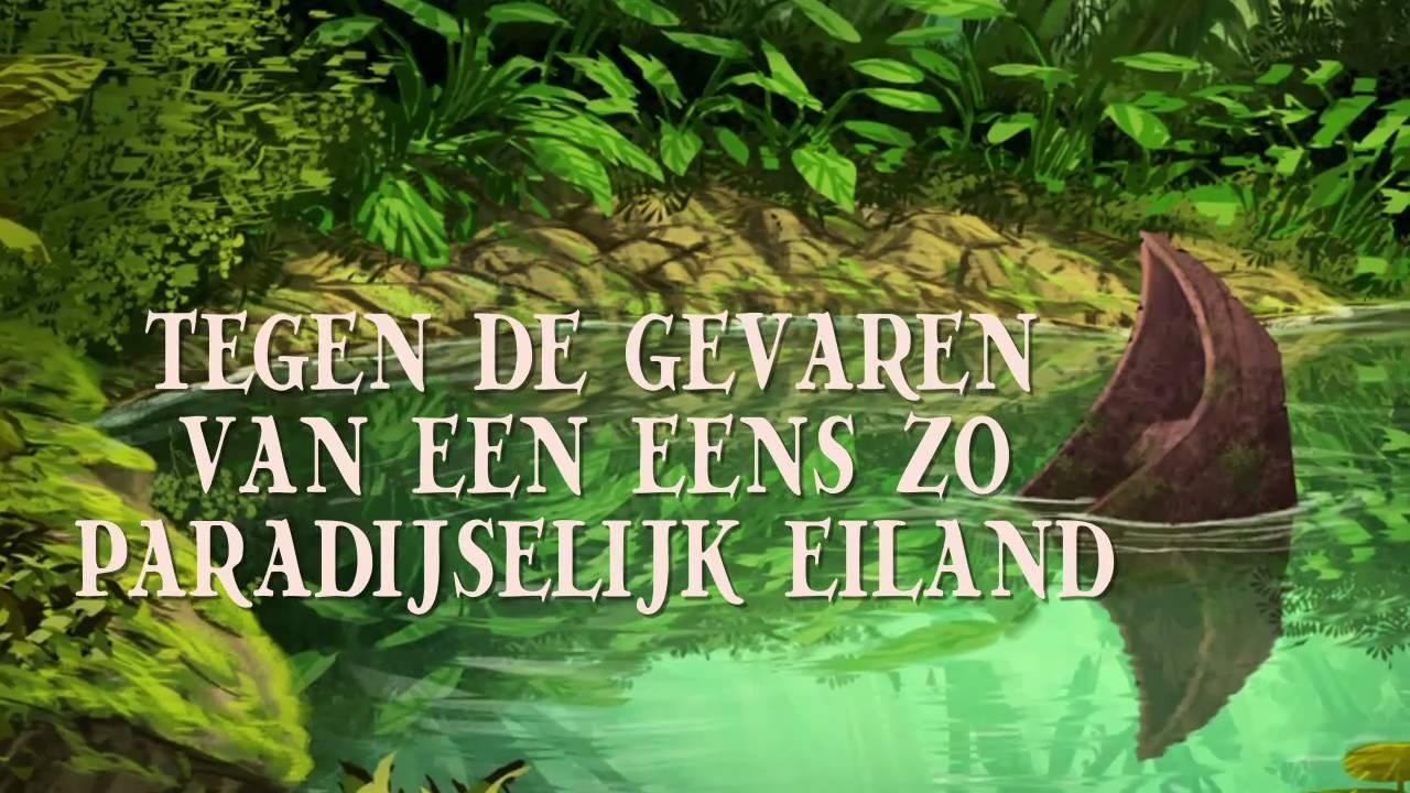 Wonderbaar Het Verboden Eiland - een bordspel van White Goblin Games OB-37