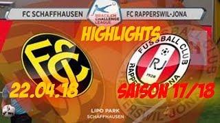 Highlights: Fc Schaffhausen vs Fc Rapperswil - Jona (21.04.18)