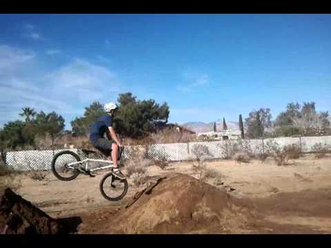 funny bmx dirt jump fail