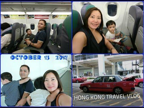 HONG KONG TRAVEL VLOG DAY 1 | OCTOBER 13, 2017