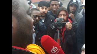 Arsenal fans interview by lyle robbie