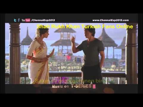 Chennai Express I Comic Dialogue's Turkish Subtitles | Shah Rukh Khan - Deepika Padukone