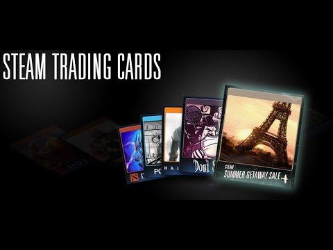 Коллекционные карточки Steam - Как получить и использовать?