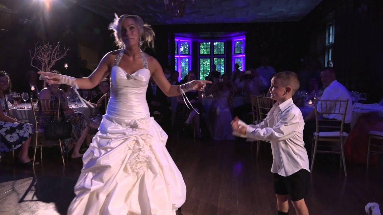Surprise Dance Mother And Son