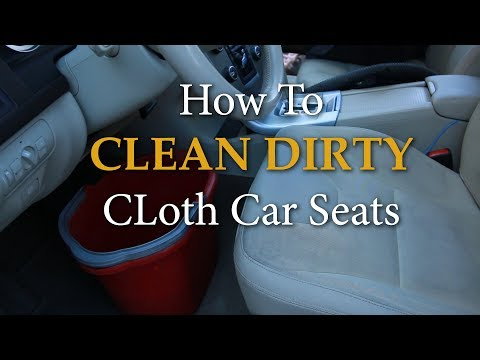 Dr Gene James- Cleaning Dirty Car Seats