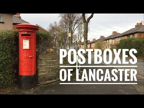 Postboxes of Lancaster