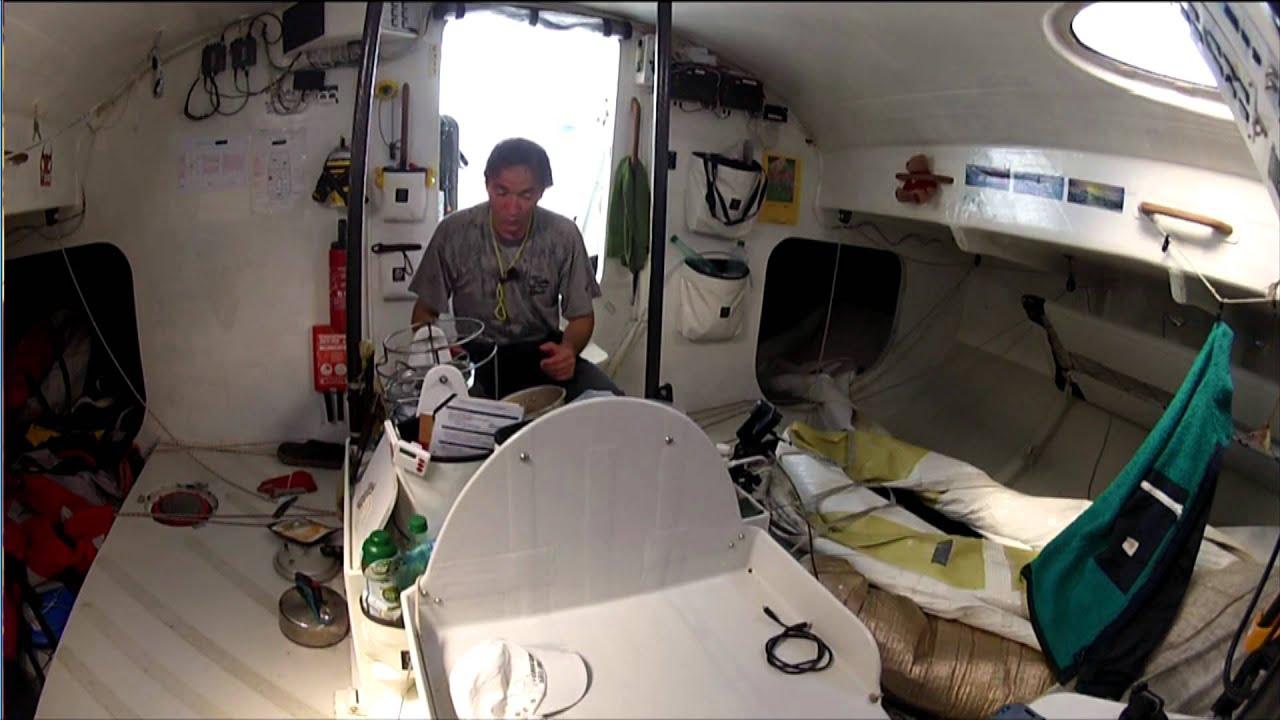 Comment faire la cuisine bord d 39 un voilier du vend e - La cuisine de bertrand ...