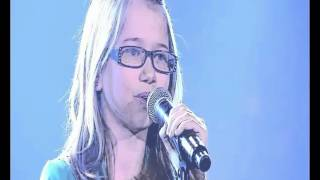 Incredibly, Laura sings as Whitney Houston in the voice kid