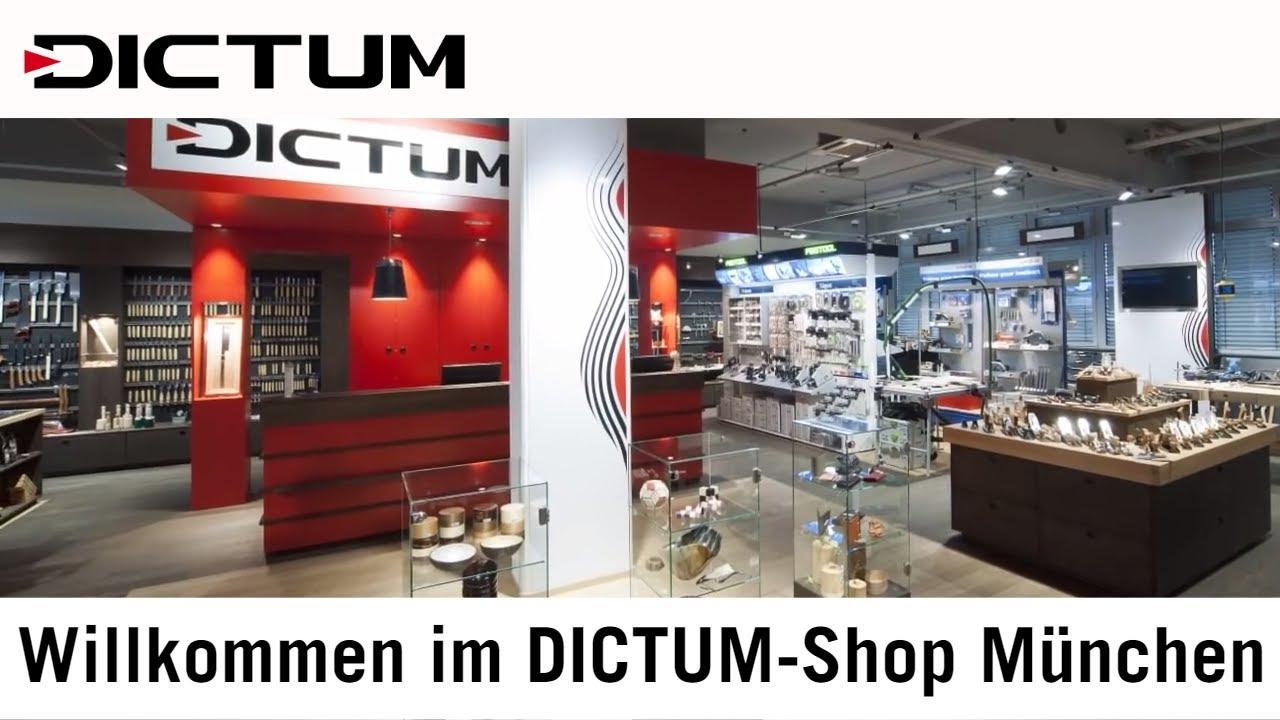 dictum shop m nchen werkzeug zum anfassen und ausprobieren youtube. Black Bedroom Furniture Sets. Home Design Ideas