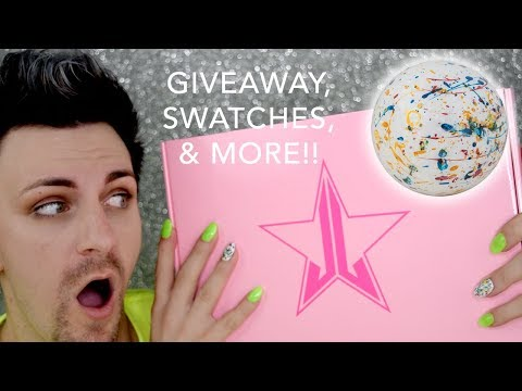 Jeffree Star Jawbreaker Swatches & Detailed Review & 1K GIVEAWAY!! thumbnail