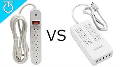 Power Strip vs Surge Protector - QICENT 6 Outlet Surge Protector Review