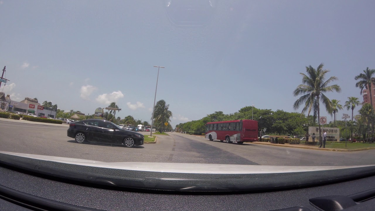 Driving Through Cancun And Mexico City In 4K