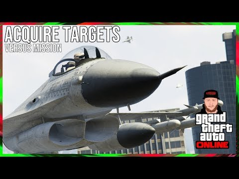 GTA ONLINE - ADVERSARY MODE - ACQUIRE TARGETS