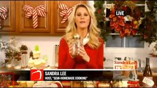Sandra Lee Gives DIY Tips for Holiday Gifts