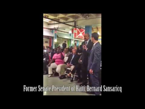 """Clinton Stole the Money"" Former Senate President of Haiti Exposes the Clinton Foundation"