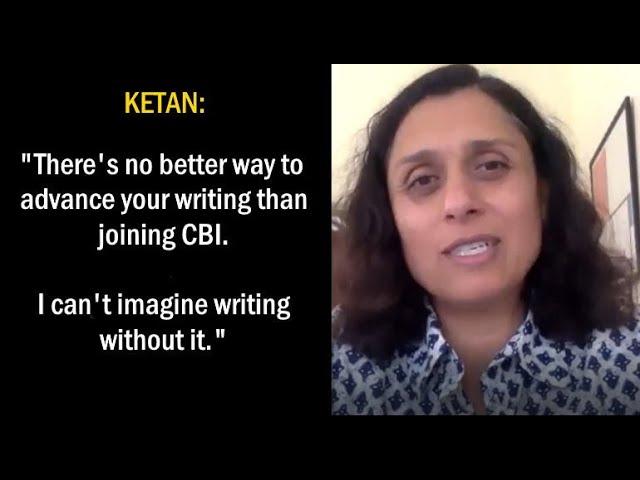 Ketan:  I Can't Imagine Writing Without CBI
