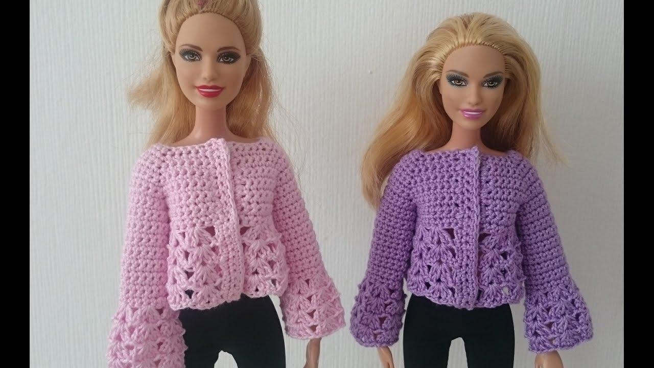 Кофточку для куклы своими руками 14