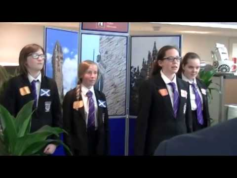 Wallace High School Battle of Stirling Bridge 290414