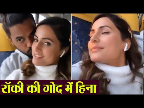 Hina Khan enjoys with boyfriend Rocky Jaiswal in Paris; Check Out | FilmiBeat