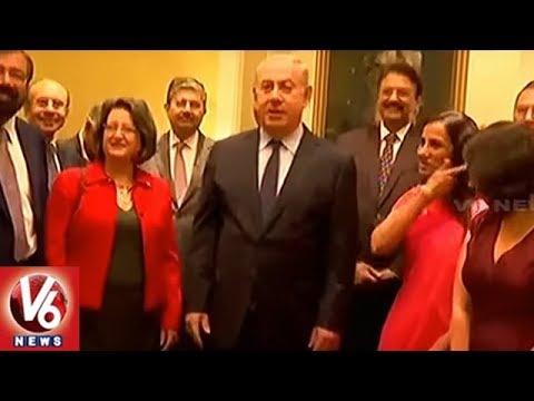 Israel PM Benjamin Netanyahu Participates In Business Summit In Mumbai | V6 News