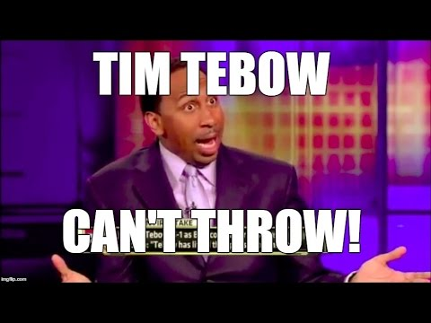 Best of Stephen A Smith: Tim Tebow Rants Pt 1, Skip Bayless, Tebowmania