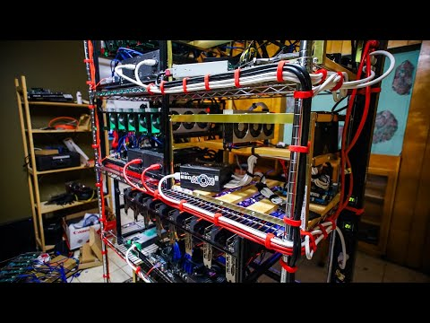 ITS CRYPTO MINING CABLE MANAGEMENT TIME!