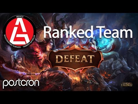 AfterLife Gaming vs SKT1 Peruvian - Ranked Match - Derrota