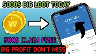 New CoinMarket Airdrop up 500$+ Profit Instant Claim Token Free Airdrop Without investment