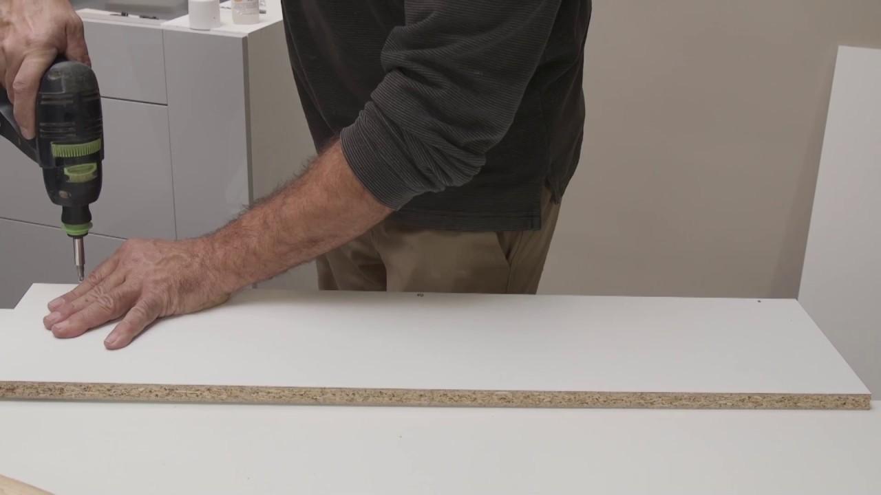 Tpc Cocinas Montaje De Un Mueble De Cocina Bajo Con Cajeado Vertical
