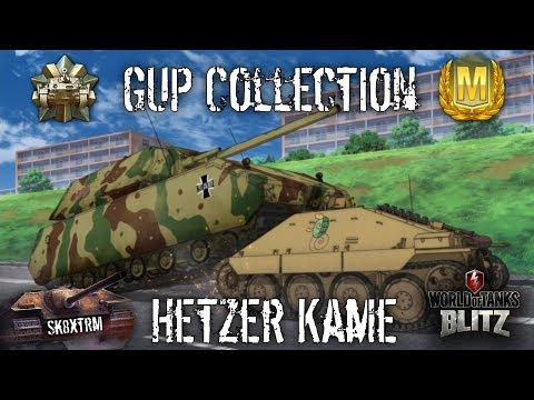 Gup Collection + Hetzer Kame Mastery - Wot Blitz