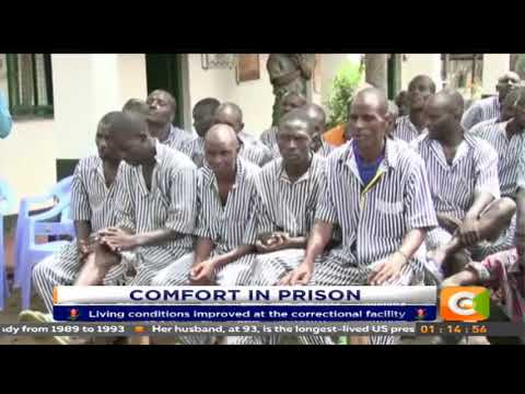 Isiolo Woman Rep donates mattresses to inmates