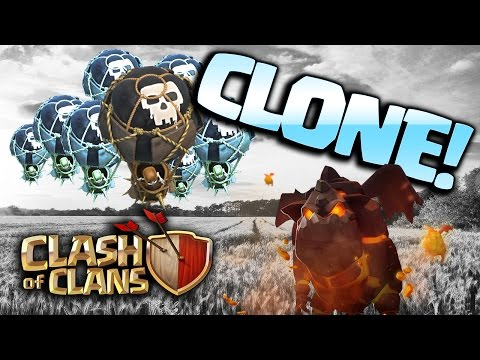 Thumbnail: Clash of Clans: CLONE SPELL THREE STARS [$500 GIVEAWAY WINNERS]