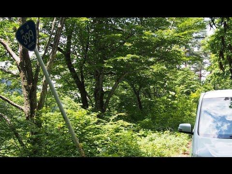 【酷道】国道399号線を走ってみた2015夏vol.8【車載動画】