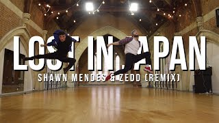 Lost in Japan (Remix) - Shawn Mendes &amp Zedd Tobias Ellehammer Choreography