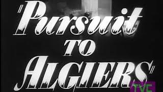 Sherlock Holmes: Pursuit To Algiers (1945) TRAILER