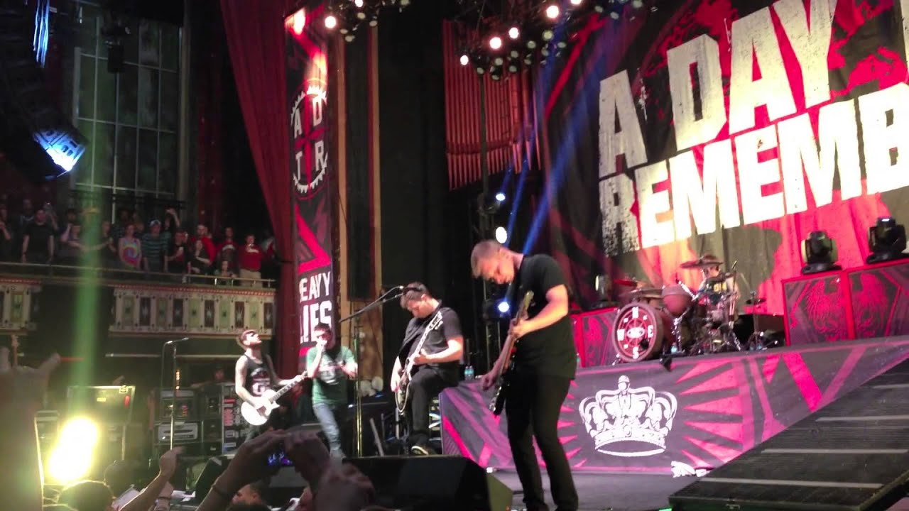A Day to Remember - Right Back At It Again (Live)( NEW ... A Day To Remember Live 2014