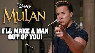I'LL MAKE A MAN OUT OF YOU - Mulan - DTSings (Cover)