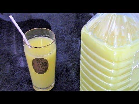 2 литра сока из 1 апельсина и 1 лимона за 15 минут! Вкусный апельсиновый напиток без консервантов.