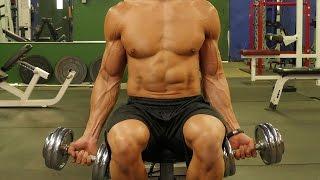 Crazy Biceps Dropset Workout - Six Pack Shortcuts