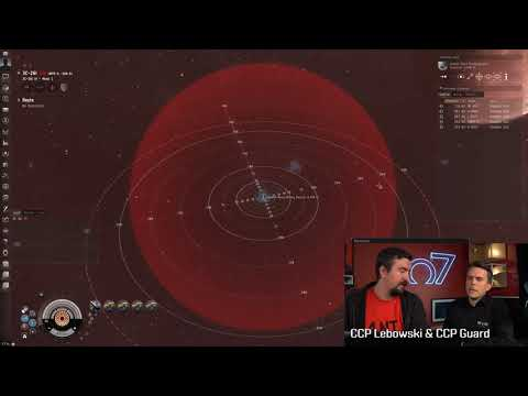 Moon Mining Feature Demo at CCP HQ - Features coming in EVE Lifeblood Oct 24