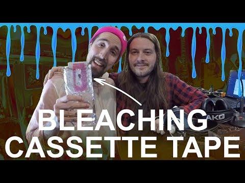 Liquid Bleach Makes Cassette Tape Sound Beautiful   Destruction Loops
