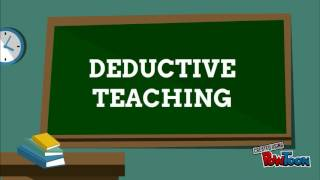 Inductive and Deductive Teaching