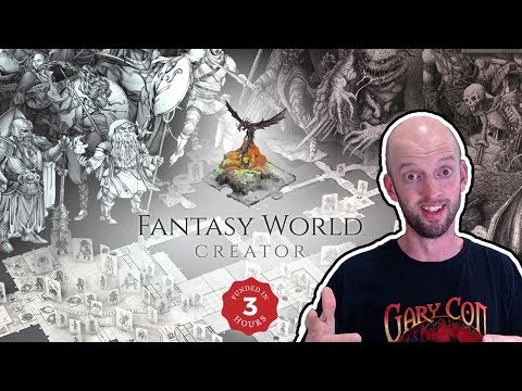 Fantasy World Creator - Let's Take A Look!