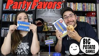Blockbuster PARTY GAME Unboxing - Big Potato Games PARTY FAVORS VLOG